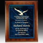 Plaque with Acrylic Nameplate Achievement Awards