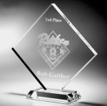 Clear Diamond Acrylic Award Acrylic Awards Trophy