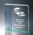 Fluted Side Acrylic Award Acrylic Awards Trophy
