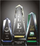 Faceted Obelisk Acrylic Award Acrylic Awards Trophy