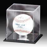 Acrylic Softball Display Ball Holders