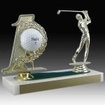 Golf Hole In One Trophy Ball Holders