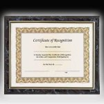 Gold Frame Certificate Plaque Certificate Plaques