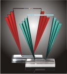 Victory Steps Acrylic Award Corporate Acrylic Awards Trophy
