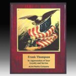 Piano Finish Eagle Plaque Eagle Trophies