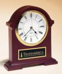 Napoleon Mantle Clock with Hand-rubbed Mahogany Finish Employee Awards