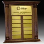Perpetual Plaque or Trophy Employee Awards