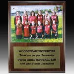 Team Photo Plaque Golf Plaques