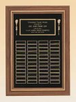 American Walnut Frame Perpetual Plaque Large Perpetual Plaques