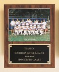 Plaque with Slide-in Photo or Certificate Holder Sales Awards