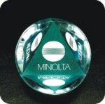 Paper Weight Round Acrylic Award Secretary Gifts