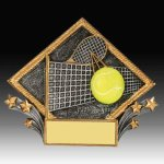 Tennis Diamond Resin Sport Series
